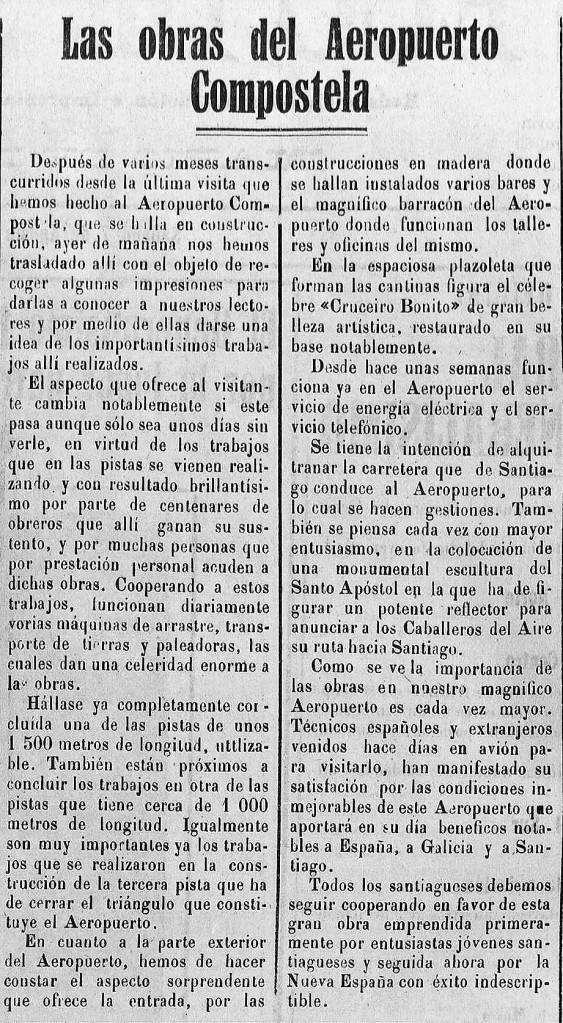 El Eco de Santiago diario independiente Año XLI Número 16813 1937 agosto 7