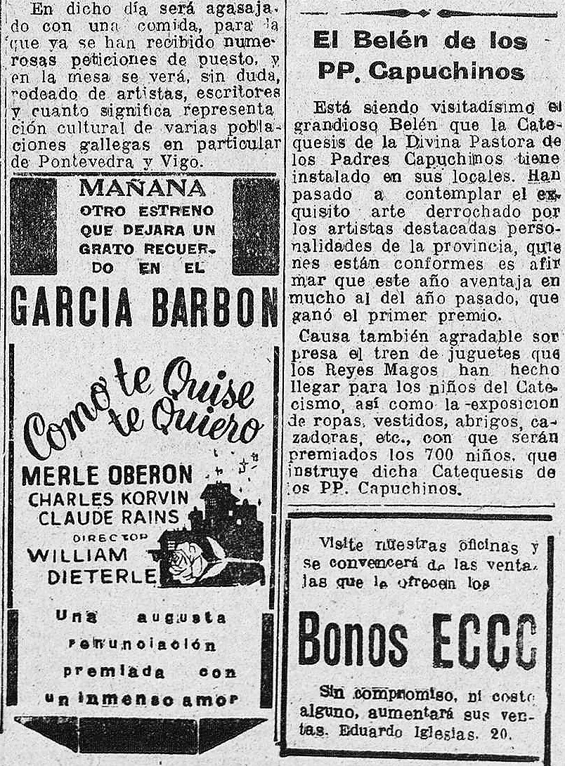 El Pueblo gallego diario de la mañana1947 enero 3