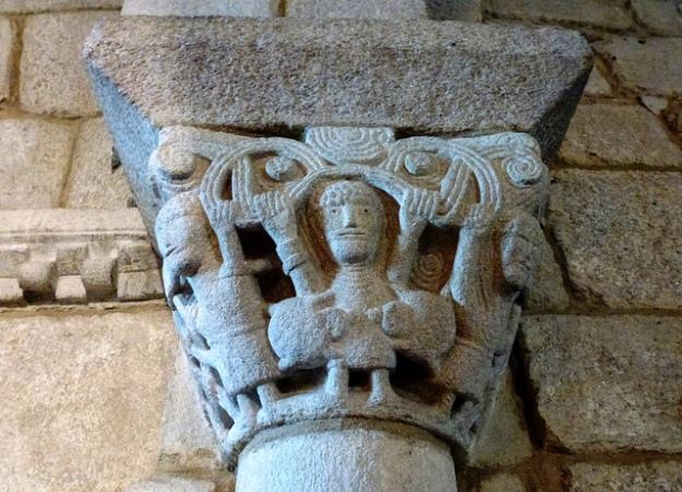 josercid.REBORDANS. Tuy. Pontevedra. Galicia. Iglesia de San Bartolomé.